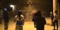 Nusaybin'de göstericiler hendek kazdı