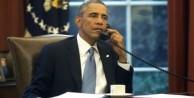Obama'dan Erdoğan'a telefon!