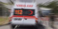 Öğrenci servisi otomobille çarpıştı: Yaralılar var