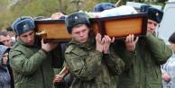 Öldürülen 32 Rus askeri o kentte getirildi