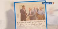 Perinçek'i kapıda karşılayan Dumanlı, İP'in tanıtımını yapan Zaman gazetesi