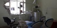 Teröristler hastaneleri yakıyor