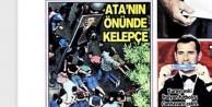 Posta Gazetesi: Ata'nın önünde kelepçe