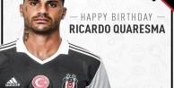 Ricardo Quaresma 33 yaşında