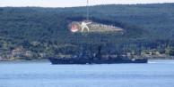 Rus gemi Boğaz'dan geçti