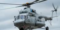 Rus helikopteri düştü: 4 ölü