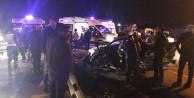 Sakarya'da feci kaza: 8 yaralı