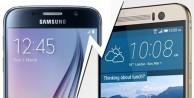 Galaxy S6 ile HTC One M9'un dev kapışması!