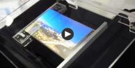 Samsung'un katlanabilir ekranı ilk kez görüntülendi!