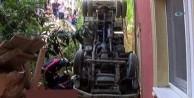 Sancaktepe'de kamyon dehşet saçtı