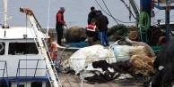 Balıkçıların ağına takılan mayın incelemeye alındı!