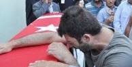 Şehit polis Yılmaz son yolculuğuna uğurlandı