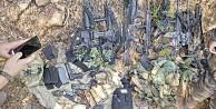 Silahları bulundu sıra kendilerinde