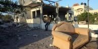 Siyonistlerden alçak hareket! Filistinli vatandaşın evini havaya uçurdular