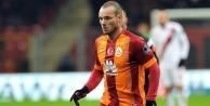 Sneijder: Futbolu burada bırakabilirim