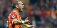 Sneijder'den küfürlü tepki