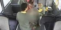 Şoförden büyük mücadele: Otobüste doğum yaptı!