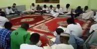Sudanlılardan Türkiye'ye dua