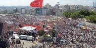 Taksim nöbetinde hedef 1 milyon kişi