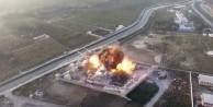 Taliban o karakolu havaya uçurdu (video)