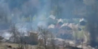 Tam 45 ev yandı