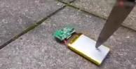 Telefon bataryasının büyük tehlikesi!../VİDEO