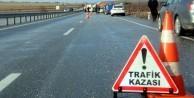 TEM'de meydana gelene kaza trafiği kilitledi: Yaralılar var