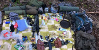 Terör örgütü PKK'ya ait 2 sığınak ele geçirildi