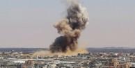 Teröristlerden Gazze'ye hava saldırısı