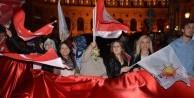 Teröristlere stand açtıran Avusturya'dan Türk bayrağı yasağı