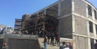 Cami inşaatında çökme: 3 ölü