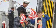 Askeri gemiler 23 Nisan'da gezilebilecek