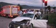 İftar yolunda feci kaza: 2 ölü, 3 yaralı