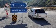 Tunceli-Pülümür karayolu ikinci bir emre kadar kapatıldı