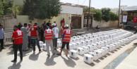 Türk Kızılayı'ndan Irak'taki sivillere 350 koli gıda yardımı
