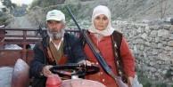 Türkmen kadınları da silahlandı
