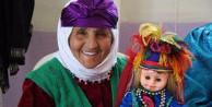 Türkmen kıyafetli 'Fatiş' bebekler ilgi görüyor