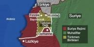 Türkmenler o bölgeyi ele geçirdi