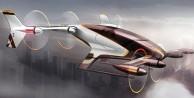 Uçan taksiler gerçek oldu! 2020'de trafiğe çıkacak