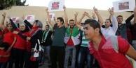 Ürdün'de Halep'e destek gösterisi