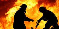 Yangın çıkan evde ceset bulundu