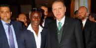 Yattara Brüksel'de Erdoğan'ı karşıladı