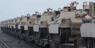 Yer Karadeniz kıyısı! ABD tankları… İlk fotoğraflar geldi!