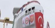 Yerli gemi 'TURKUAZ' denize indirildi