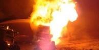 Hainler yine araç yaktı