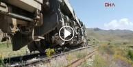 Yük trenine PKK'dan bombalı saldırı
