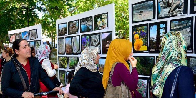 Anaokulu öğrencilerinden fotoğraf sergisi