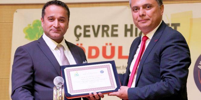Antalya OSB'ye üçüncü çevre ödülü