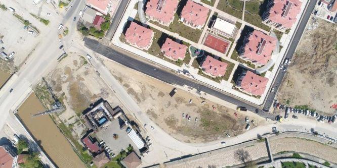 Düzce'de Çay Mahallesi asfaltlandı