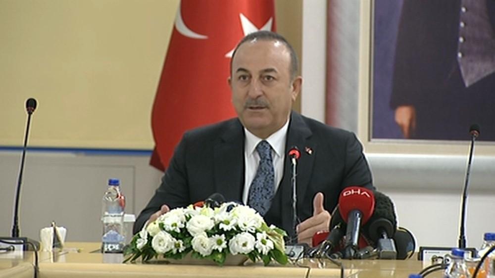 (1) Dışişleri Bakanı Mevlüt Çavuşoğlu: